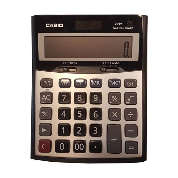 ماشین حساب کاسیو مدل DS-3V-W