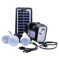 سیستم روشنایی خورشیدی جی دی پلاس مدل GD-8 مجموعه 6 عددی
