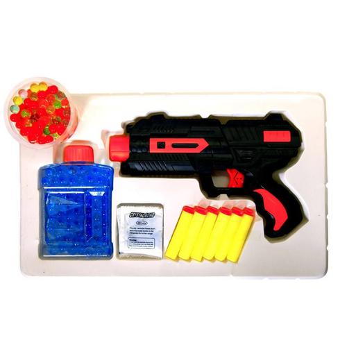تفنگ اسباب بازی سافت گان مدل 8820 مجموعه 10 عددی
