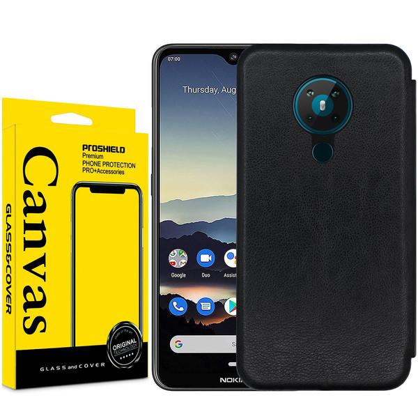 کیف کلاسوری کانواس مدل MAX SERIES مناسب برای گوشی موبایل نوکیا 5.3