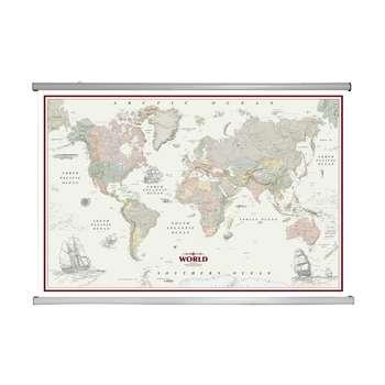 نقشه کشورهای جهان گیتاشناسی نوین کد L-2001