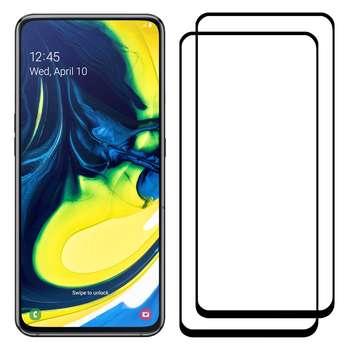 محافظ صفحه نمایش مدل FCG مناسب برای گوشی موبایل سامسونگ Galaxy A80 بسته دو عددی
