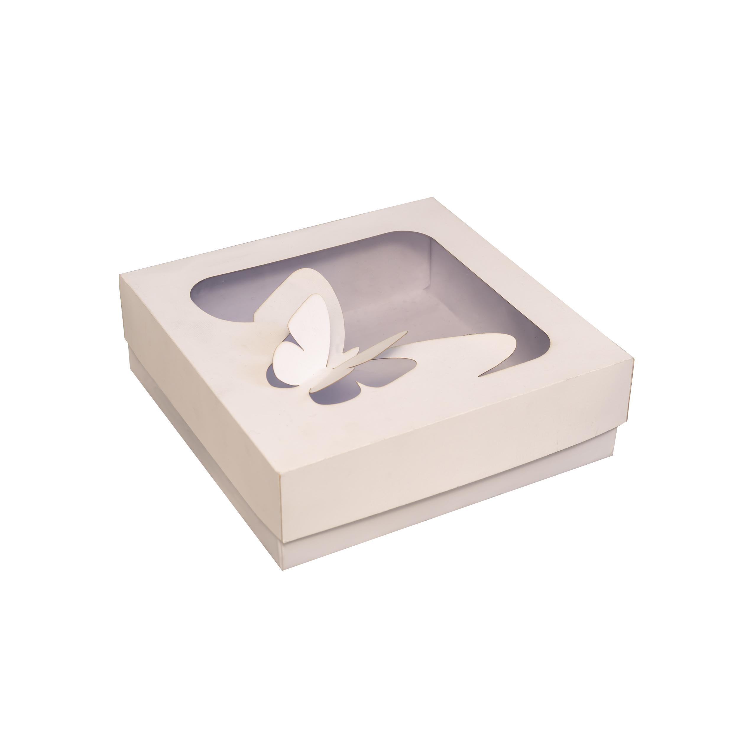 جعبه هدیه طرح پروانه