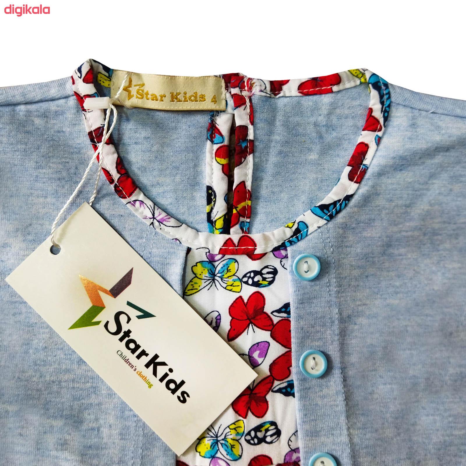 پیراهن دخترانه استارکیدز کد B001101 main 1 2