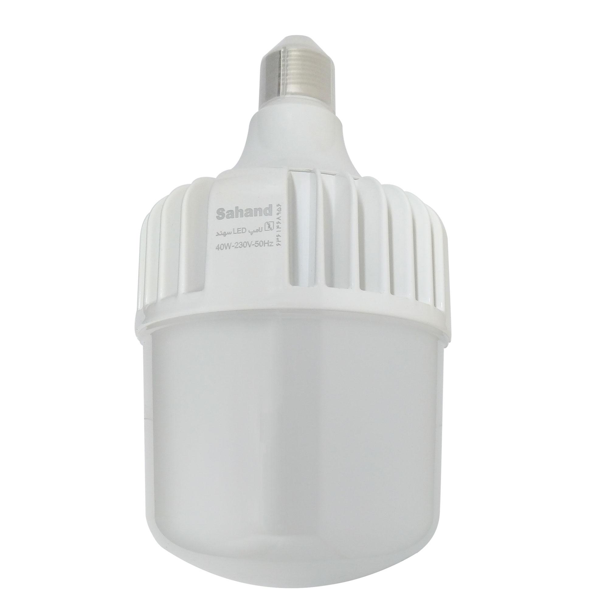 لامپ ال ای دی 40 وات سهند کد T40 پایه E27