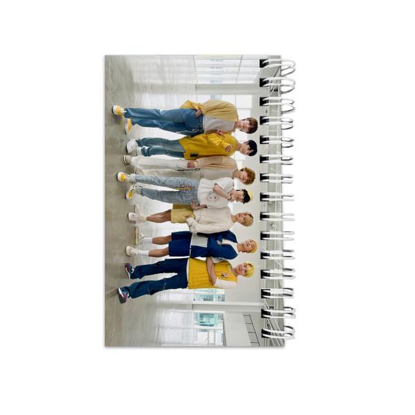 دفترچه یادداشت مدل to do list طرح بی تی اس bts کد abc-13489-a
