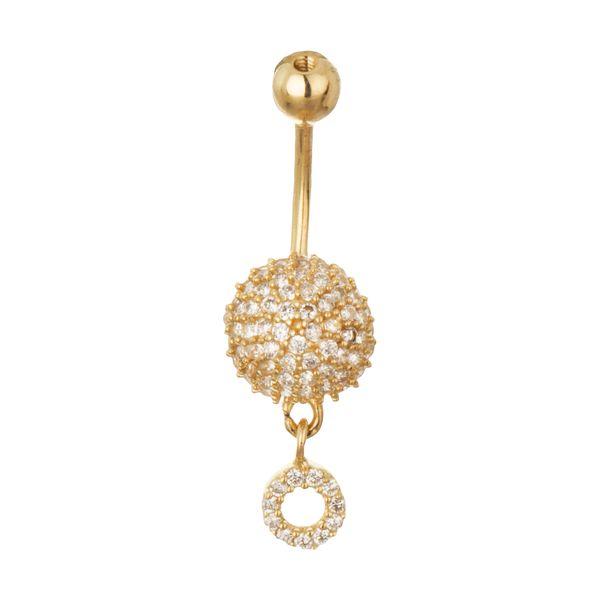 پیرسینگ طلا 18 عیار زنانه مایا ماهک مدل MO0117