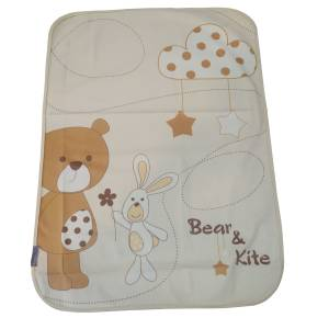 زیرانداز تعویض نوزاد مدل bear and kite کد 2021