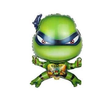 بادکنک فویلی طرح لاکپشتهای نینجا کد 01