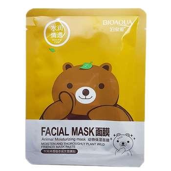 ماسک صورت بایو آکوا مدل مرطوب کننده وزن 30 گرم