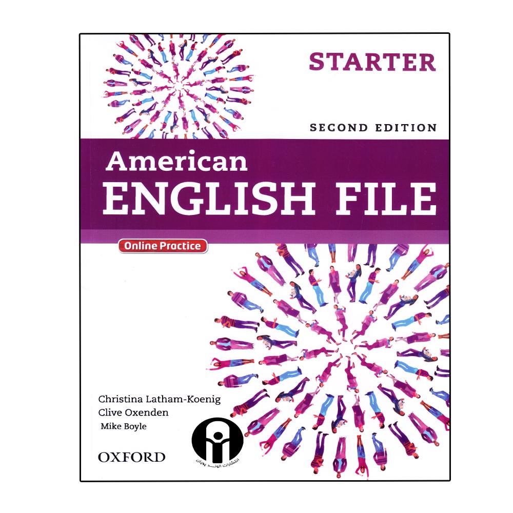 خرید                       کتاب American English File Starter اثر جمعی از نویسندگان انتشارات الوند پویان