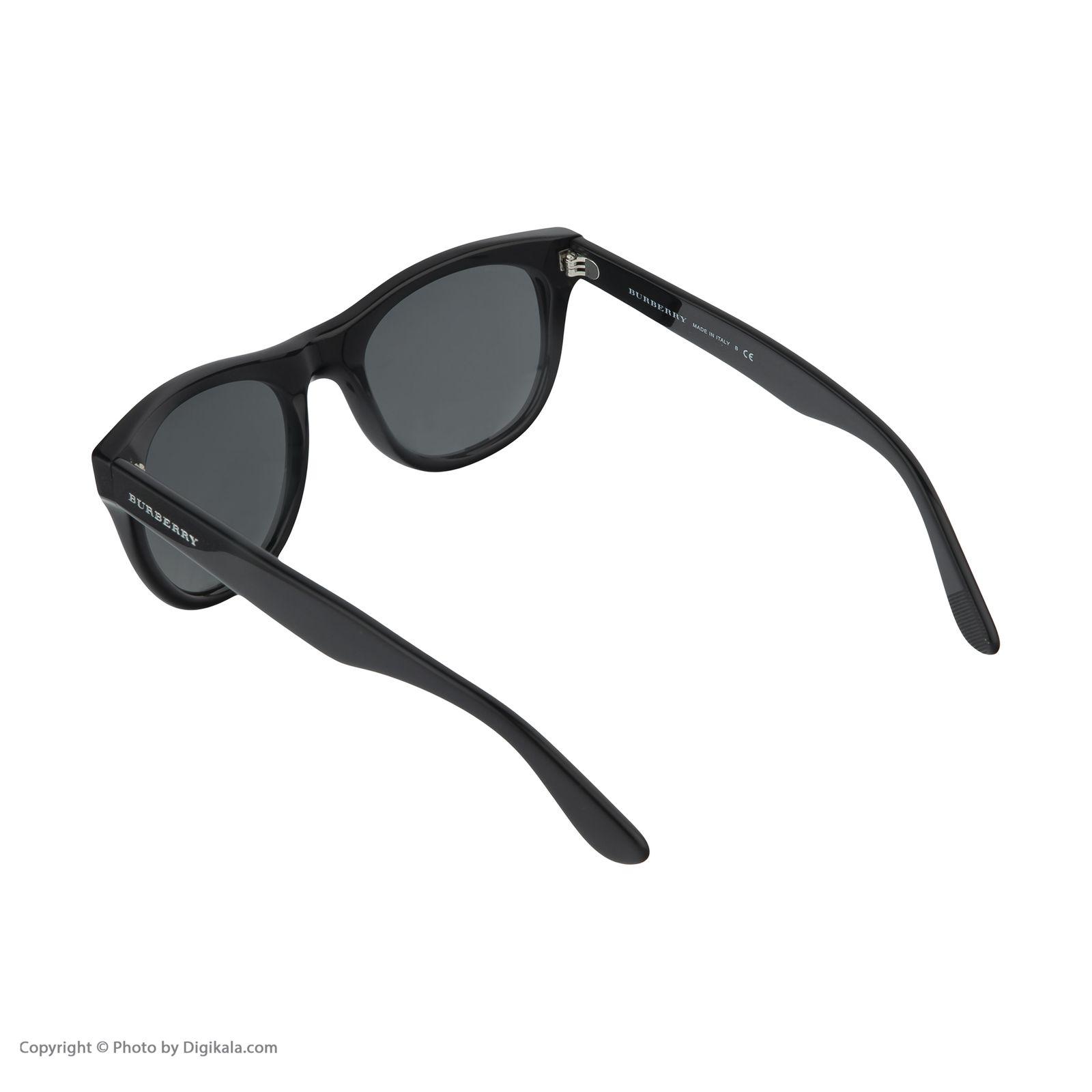 عینک آفتابی مردانه بربری مدل BE 4195S 300187 52 -  - 5