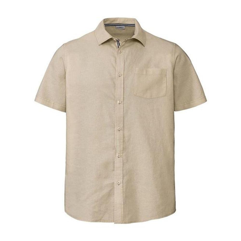 پیراهن آستین کوتاه مردانه لیورجی مدل 311475