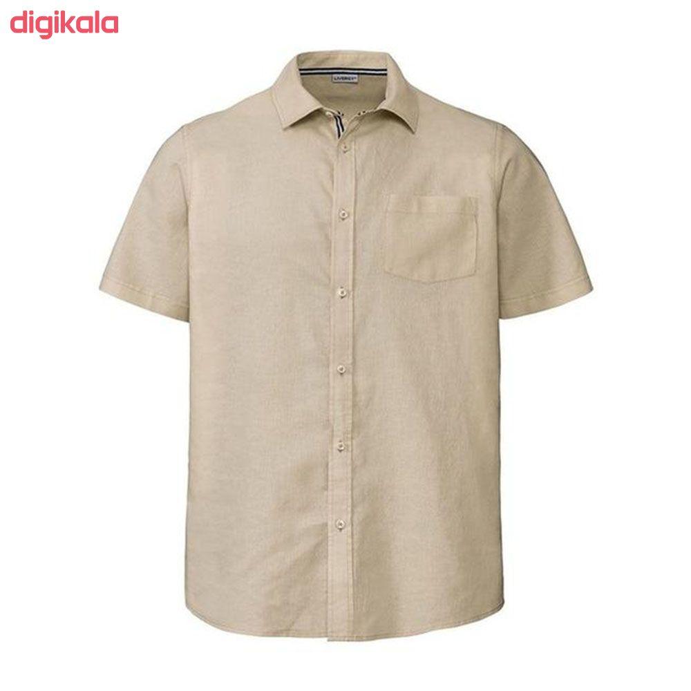 پیراهن آستین کوتاه مردانه لیورجی مدل 311475 main 1 2