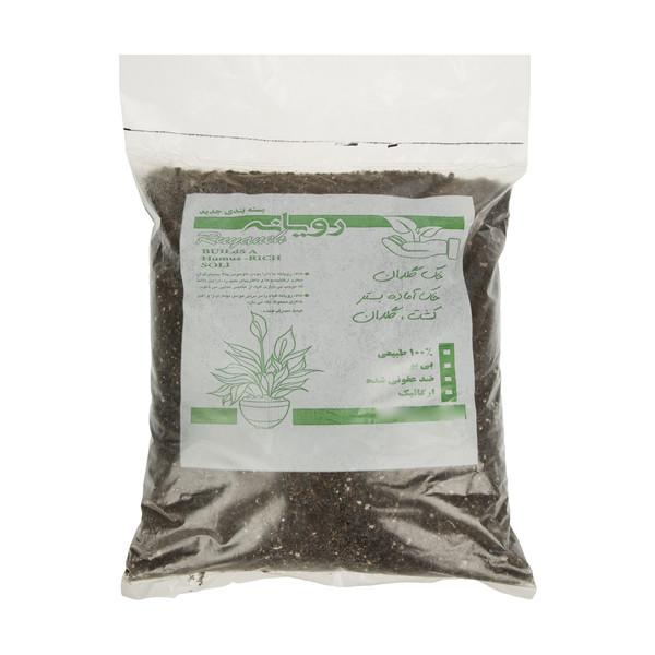خاک گلدان رویانه کد AA014 حجم 15 لیتر
