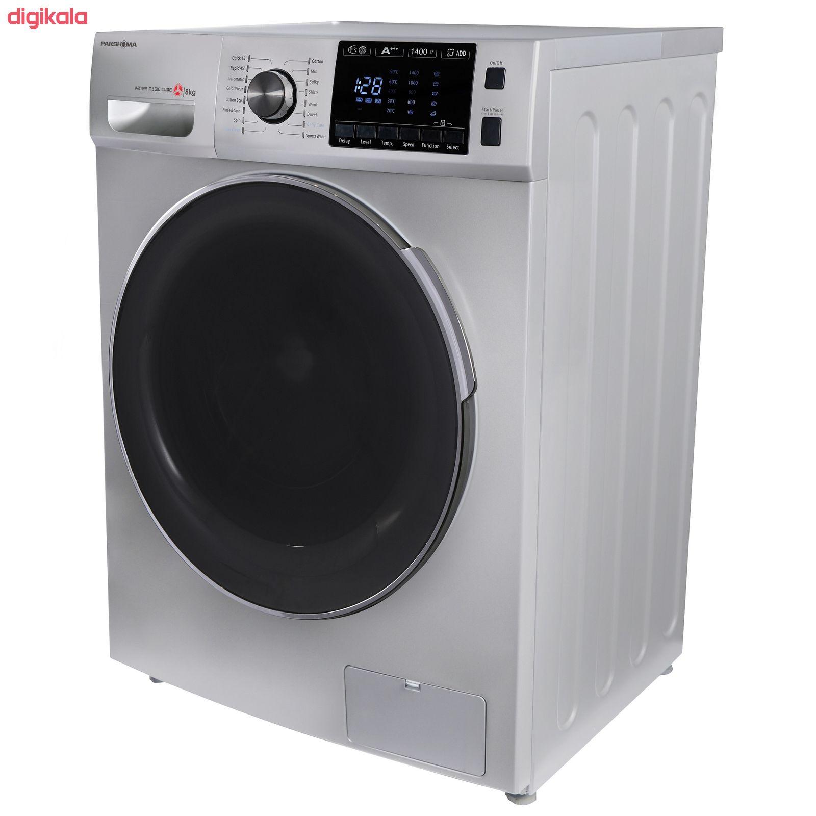 ماشین لباسشویی پاکشوما مدل TFU-84406 ظرفیت 8 کیلوگرم main 1 3