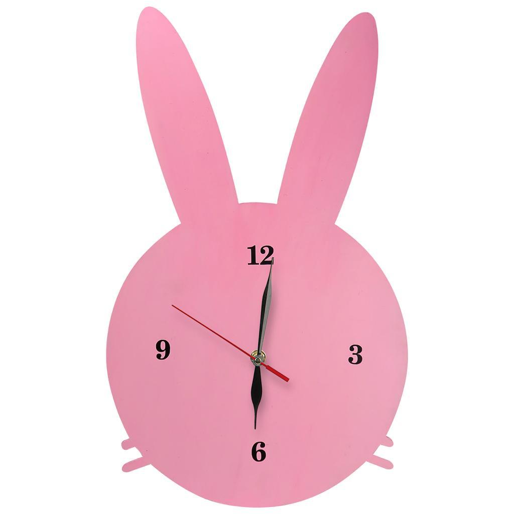 ساعت دیواری طرح خرگوش