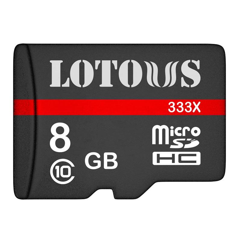 کارت حافظه microSDHC لوتوس مدل Color Elite کلاس 10 استاندارد UHS-I U1 سرعت 90MBps ظرفیت 8 گیگابایت