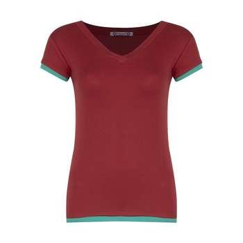 تی شرت زنانه افراتین کد 2556 رنگ قرمز