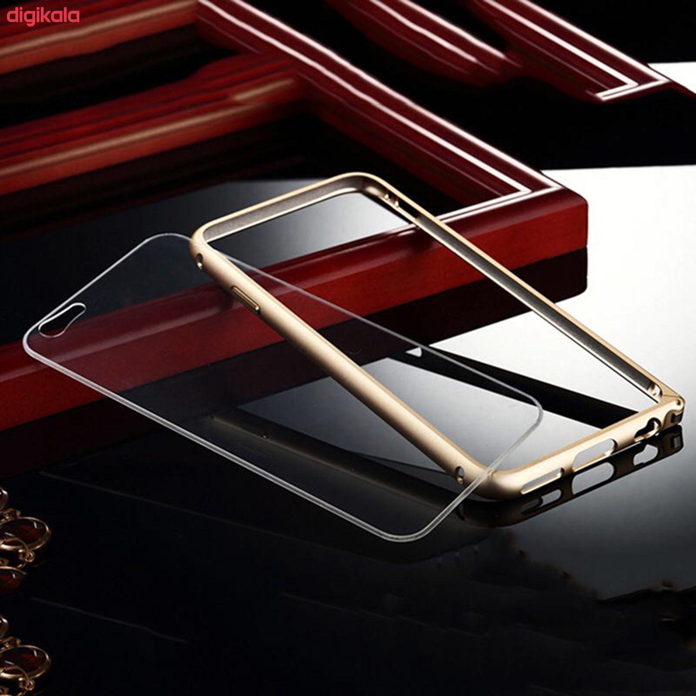 بامپر مدل LF156 مناسب برای گوشی موبایل اپل iPhone 6/6S به همراه محافظ پشت گوشی main 1 3