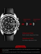 ساعت مچی عقربه ای مردانه اسکمی مدل 9156M-NP -  - 5
