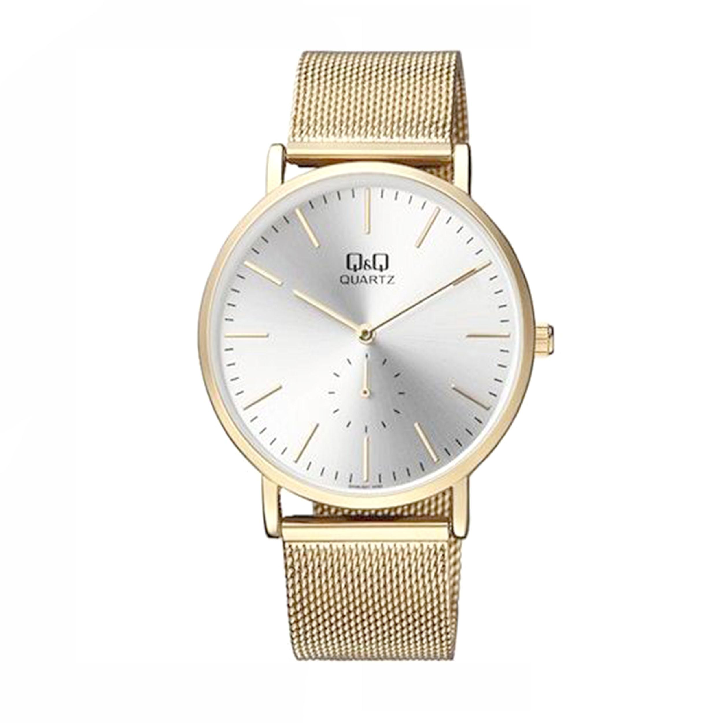 ساعت مچی عقربهای مردانه کیو اند کیو مدل QA96J001Y