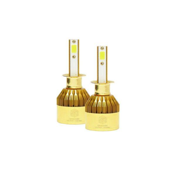 لامپ هدلایت خودرو دی فایو مدل H1 FLSH بسته 2 عددی