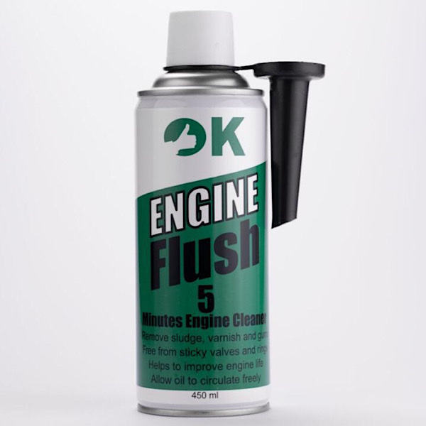 مکمل روغن موتور اوکی مدل EF حجم ۴۵۰ میلی لیتر