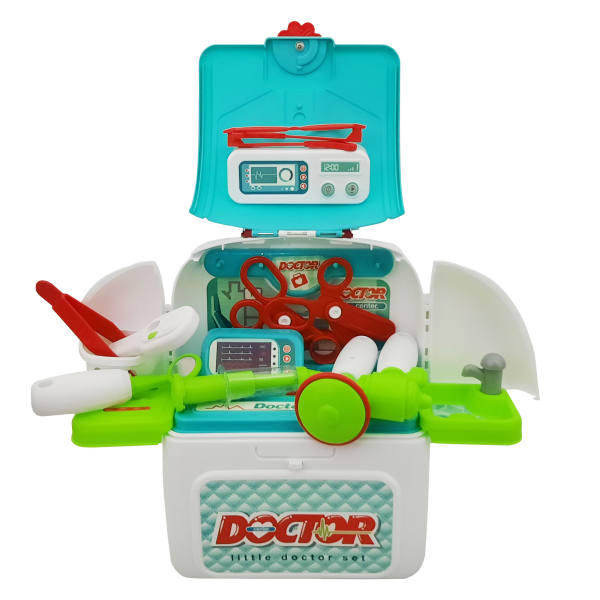ست اسباب بازی تجهیزات پزشکی مدل کوله پشتی کد 900