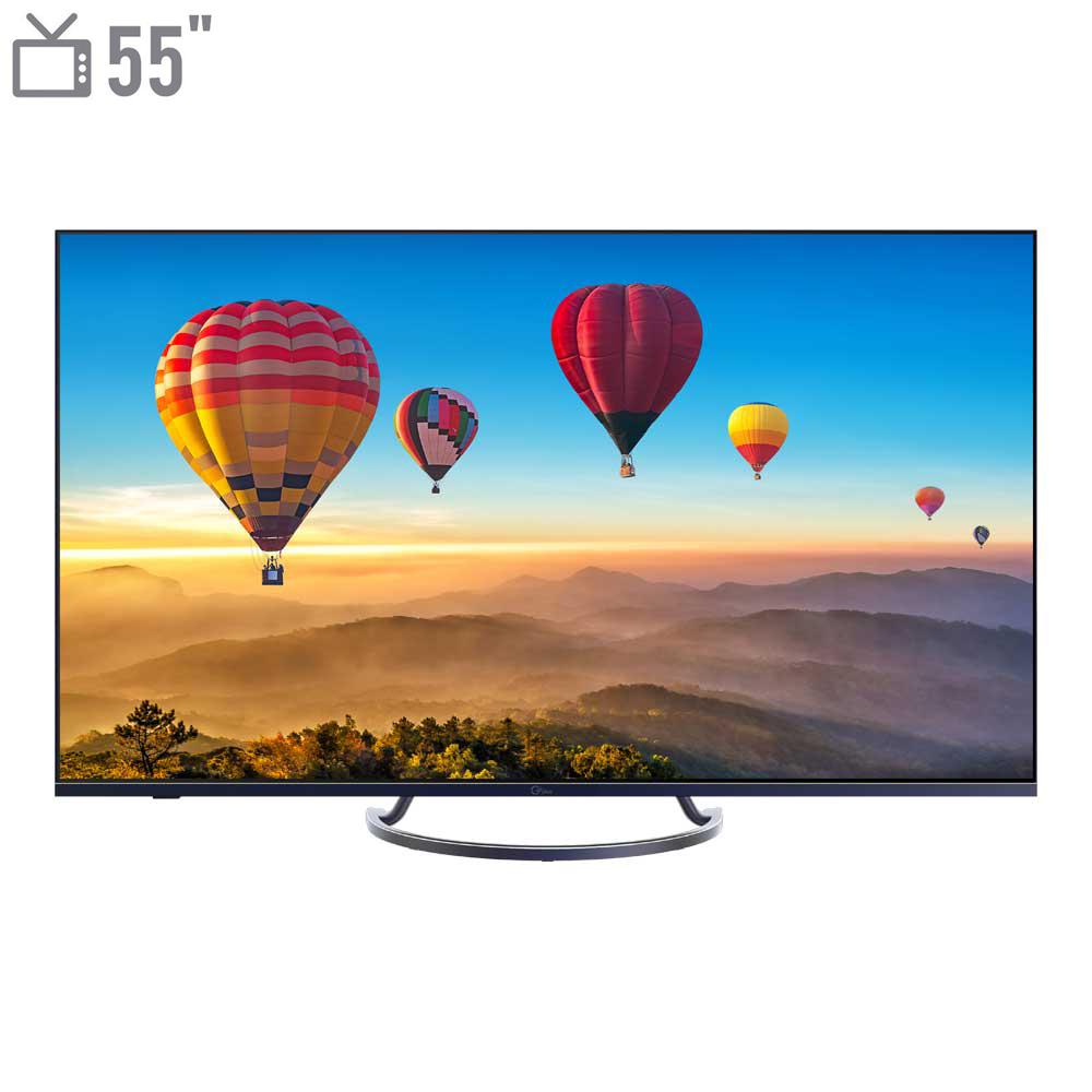 تلویزیون ال ای دی هوشمند جی پلاس مدل GTV-55KE821S سایز 55 اینچ