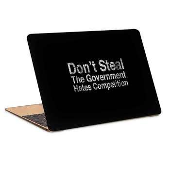استیکر لپ تاپ طرح dont stealکد c-243مناسب برای لپ تاپ 15.6 اینچ