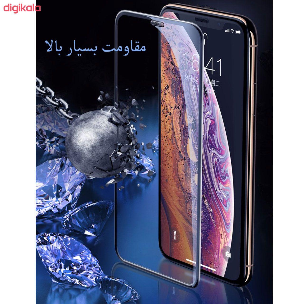 محافظ صفحه نمایش مدل FCG مناسب برای گوشی موبایل اپل iPhone 12 Pro Max بسته دو عددی main 1 12
