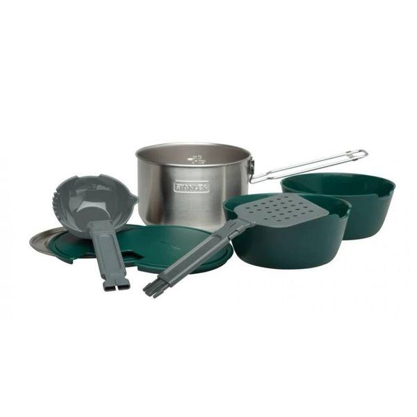 مجموعه ظروف سفری استنلی مدل Two Bowl Cook Set