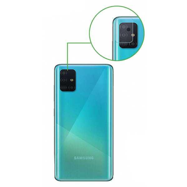 محافظ لنز دوربین مدل LP01mo مناسب برای گوشی موبایل سامسونگ Galaxy A51