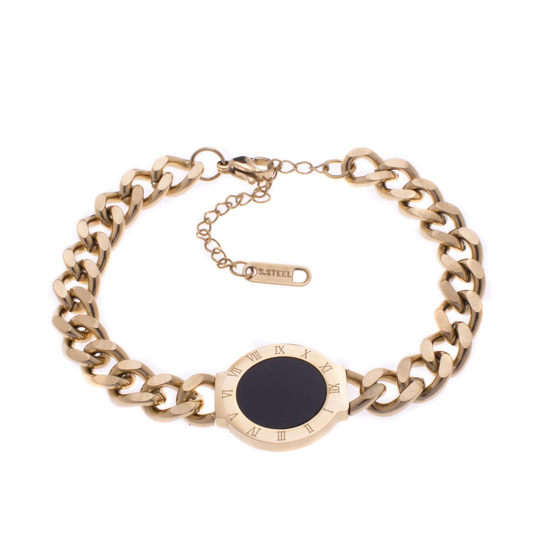 دستبند زنانه استینلس استیل مدل BDZ1016