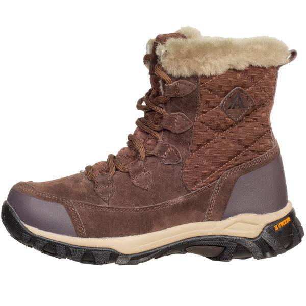 کفش کوهنوردی زنانه هامتو مدل FURRY BRN9981