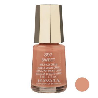 لاک ناخن ماوالا مدل  Sweet شماره 397