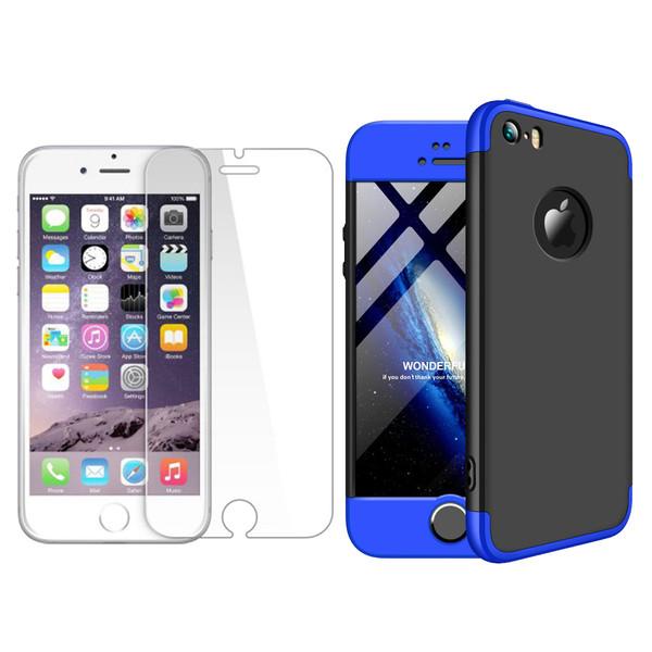 کاور 360 درجه ورلد ویو مدل WGK-WGM-1 مناسب برای گوشی موبایل اپل iPhone 5/5S/SE به همراه محافظ صفحه نمایش