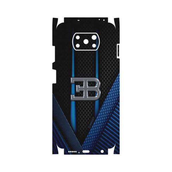 برچسب پوششی ماهوت مدل BUGATTI-FullSkin مناسب برای گوشی موبایل شیائومی Poco X3 NFC