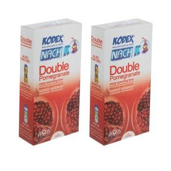 کاندوم ناچ کدکس مدل Double Pomegranate مجموعه 2 عددی