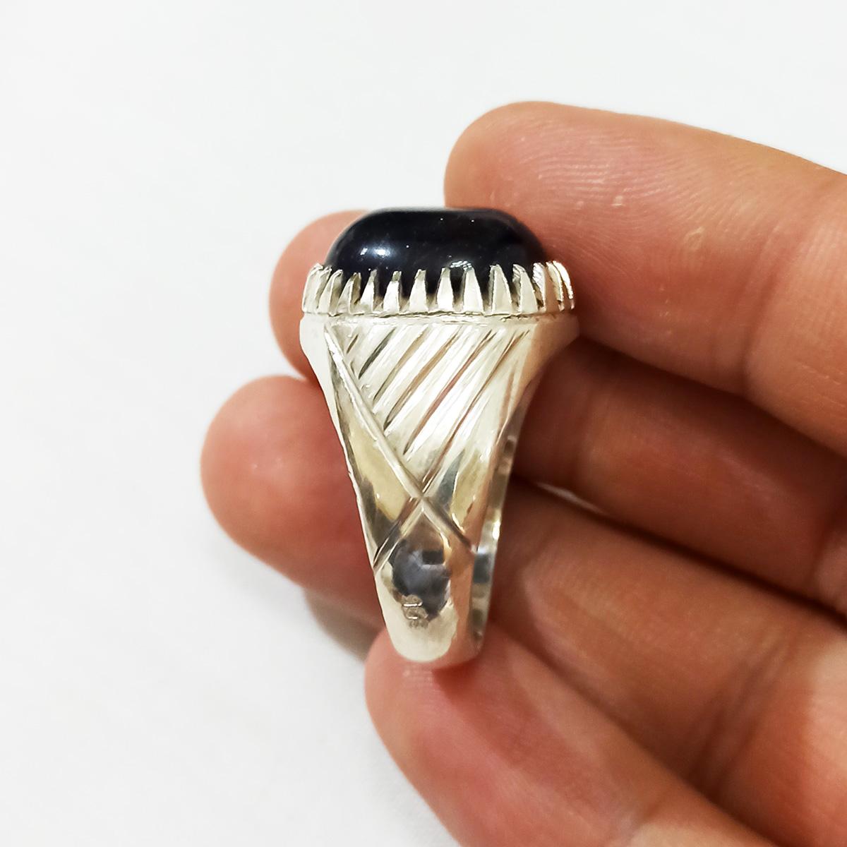 انگشتر نقره مردانه سلین کالا مدل دلربا ce-As1