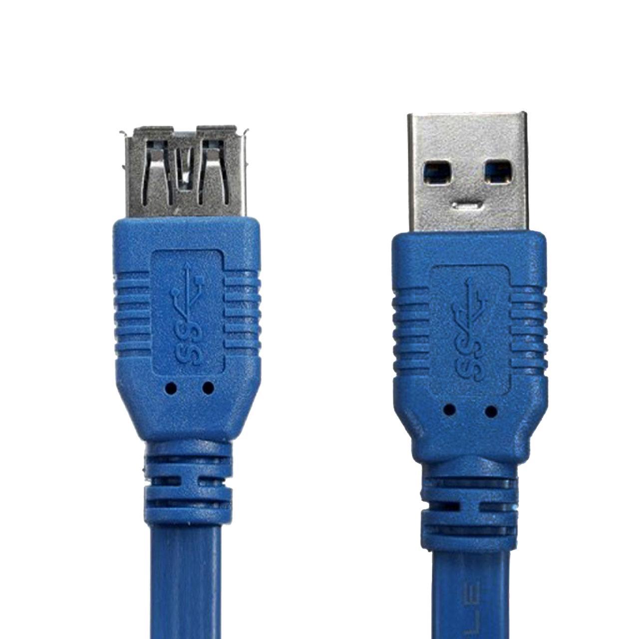 کابل افزایش طول USB 3.0 کینگ هود مدل JH5 طول 1.5 متر