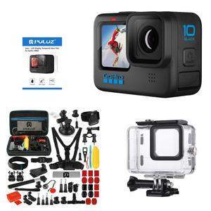 دوربین فیلم برداری ورزشی گوپرو مدل Hero 10 به همراه لوازم جانبی