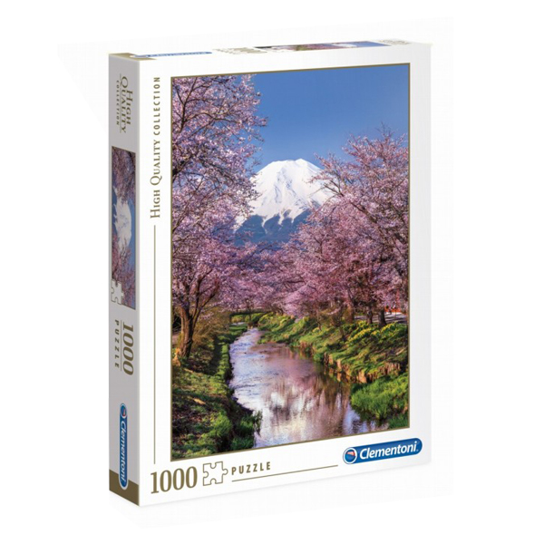 پازل 1000 تکه کلمنتونی مدل Fuji Mountain کد 39418