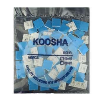 پایه بست کمربندی کوشا مدل ROSH بسته 100 عددی