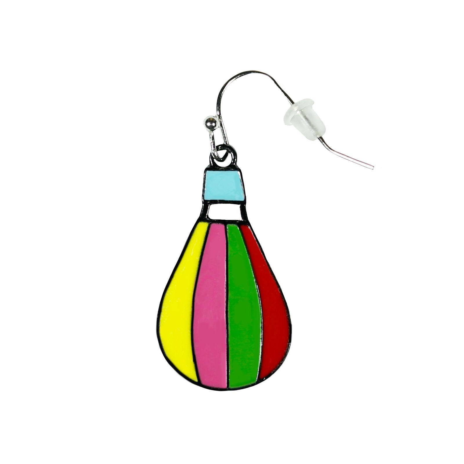 گوشواره زنانه طرح بالن کد BL-GU 109 -  - 3