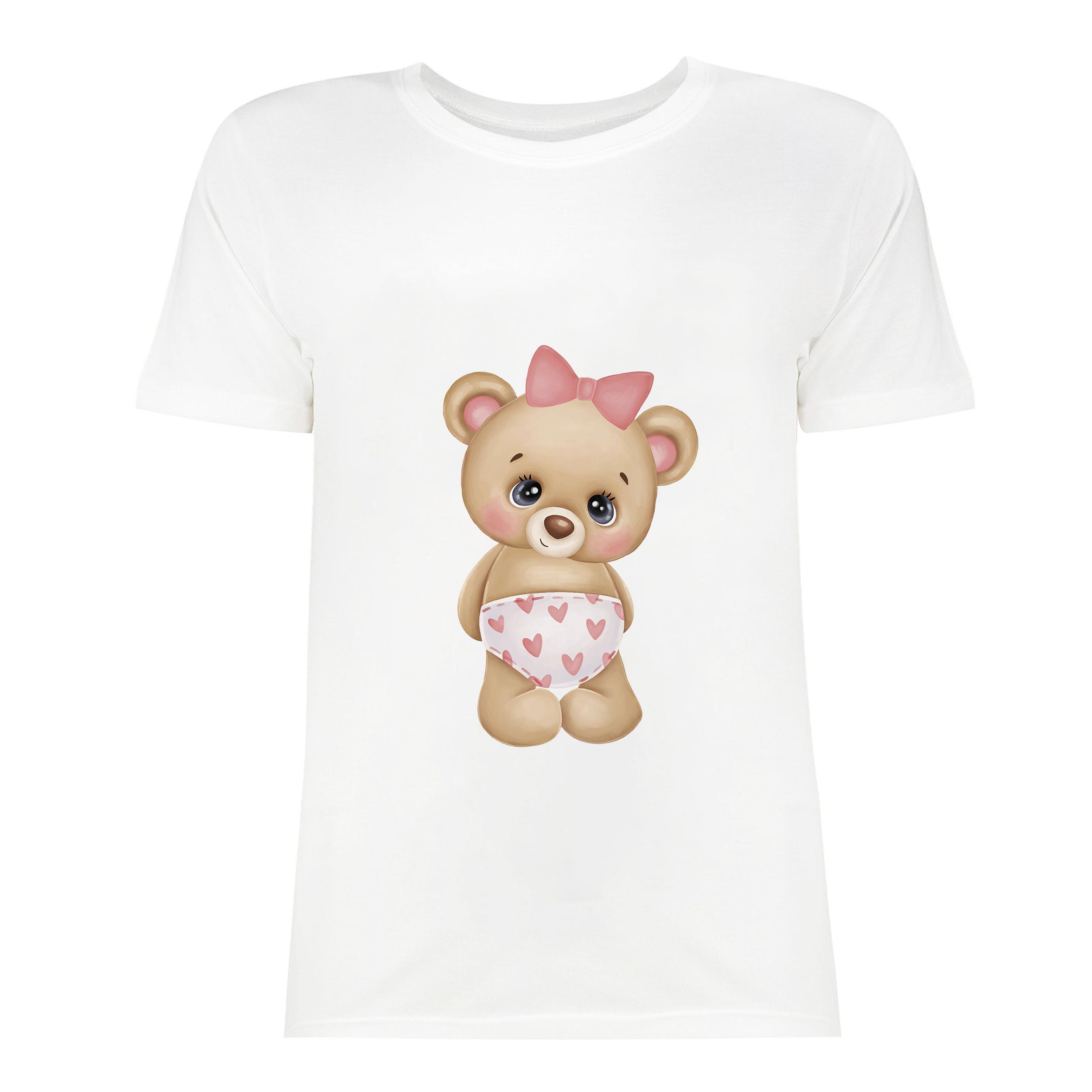 تی شرت آستین کوتاه زنانه مدل FIDO-SK5