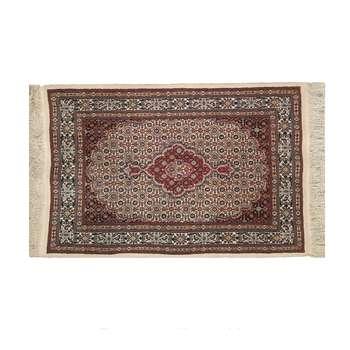 فرش دستباف یک ونیم متری طرح ماهی ترنج کد 1130
