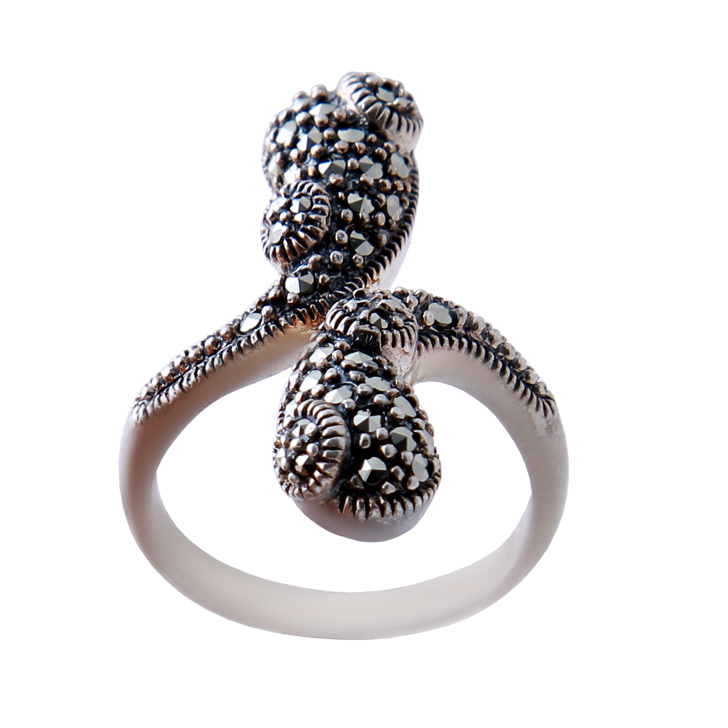انگشتر نقره زنانه بازرگانی میلادی  AW_353