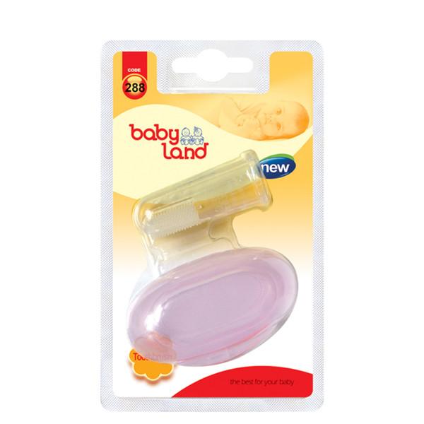 مسواک انگشتی نوزاد بیبی لند مدل 288
